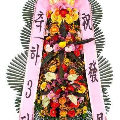 ★축하3단화환★