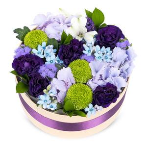 큐티 원형 꽃박스1