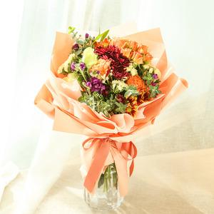 ●주황꽃다발(화병제외)
